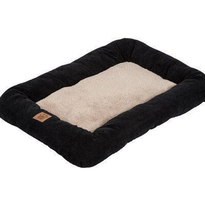 Snoozzy Mod Chic Low Bumper Mat Size: Medium (31 L x 21 W), Color: Black