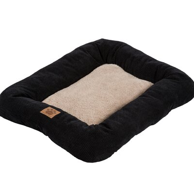 Snoozzy Mod Chic Low Bumper Mat Size: Small (25 L x 20 W), Color: Black