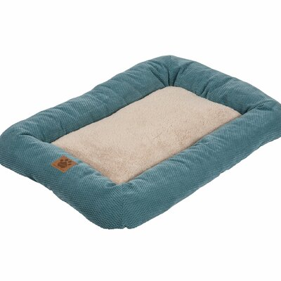 Snoozzy Mod Chic Low Bumper Mat Size: Medium (31 L x 21 W), Color: Teal