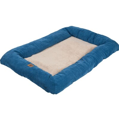 Snoozzy Mod Chic Low Bumper Mat Size: Extra Extra Large (51 L x 33 W), Color: Blue