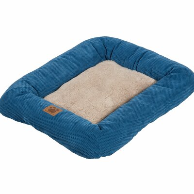 Snoozzy Mod Chic Low Bumper Mat Size: Small (25 L x 20 W), Color: Blue