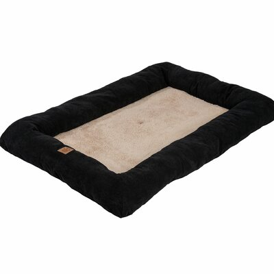 Snoozzy Mod Chic Low Bumper Mat Color: Black, Size: Extra Extra Large (51 L x 33 W)