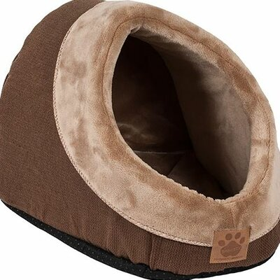 Snoozzy Rustic Elegance Hide and Seek Bed Color: Brown