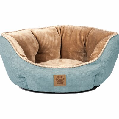 Maxine Rustic Elegance Clamshell Bed Color: Teal