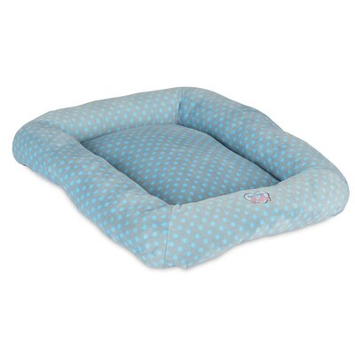 Snoozzy Polka Dot Baby Bumper Bed Color: Blue