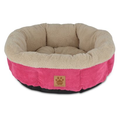 Snoozzy Mod Chic Round Shearling Cup Bed 7075989