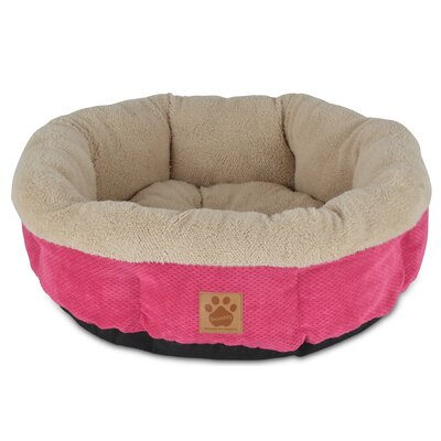 Snoozzy Mod Chic Round Shearling Cup Bed