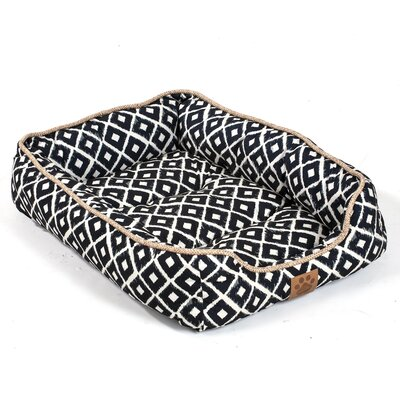 Maxine Ikat Drawer Bed Color: Navy