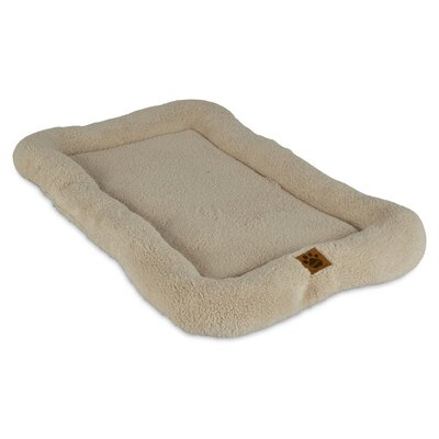 Snoozzy Low Bumper Crate Dog Mat Size: 23 W x 35 D x 3.5 H