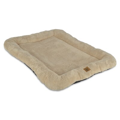 Snoozzy Low Bumper Crate Dog Mat Size: 28 W x 43 D x 4 H