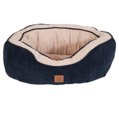 Chevron Gusset Daydreamer Bolster Dog Bed Size: 22 W x 26 D x 10 H