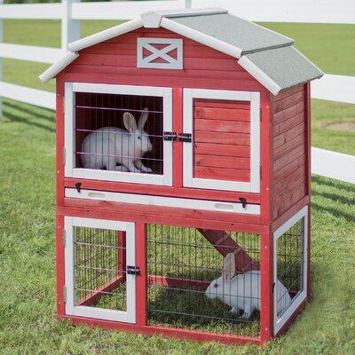 Old Barn Rabbit Hutch