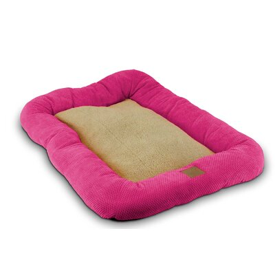SnooZZy Mod Chic Low Bumper Crate Dog Mat Size: Small (18 L x 14 W)