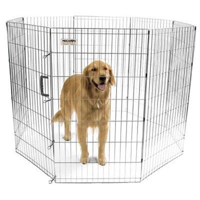 Harlow Pro Handler Exercise Dog Pen Size: Super (42 H x 24 W)