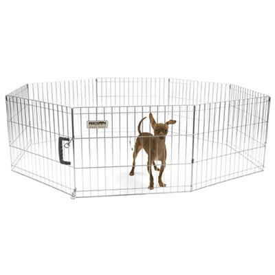 Pro Handler Exercise Dog Pen Size: Mini (18 H x 24 W)