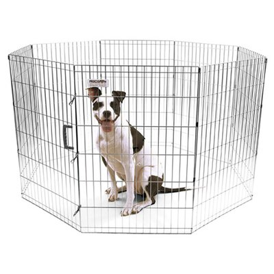 Harlow Pro Handler Exercise Dog Pen Size: Large (36 H x 24 W)