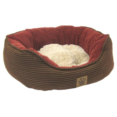 Pillow Soft Daydreamer Dog Bed Size: Small (21 H x 19 W), Color: Dark Rust