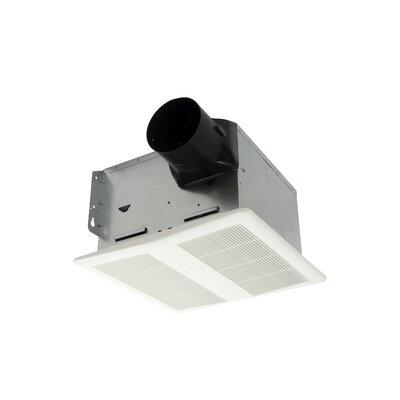 HushTone 110 CFM Energy Star Bathroom Fan With Humidistat Combo