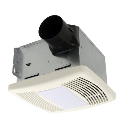 HushTone 110 CFM Energy Star Bathroom Fan With Light