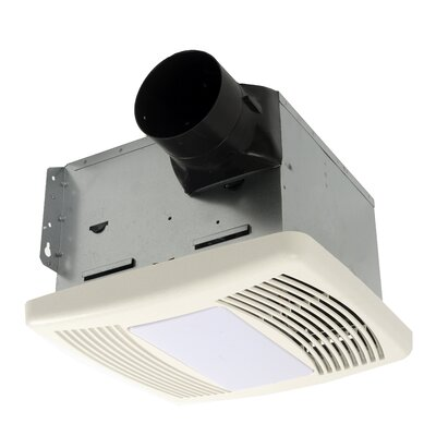 HushTone 110 CFM Energy Star Bathroom Fan With Motion Sensor Combo