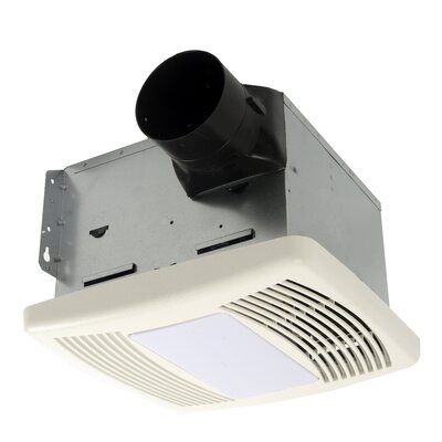 HushTone 150 CFM Energy Star Bathroom Fan With Motion Sensor Combo