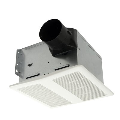 HushTone 80 CFM Energy Star Bathroom Fan With Humidistat Combo