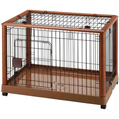 Mobile Pet Pen Size: Medium (26 H x 36.8 W x 24.2 L)