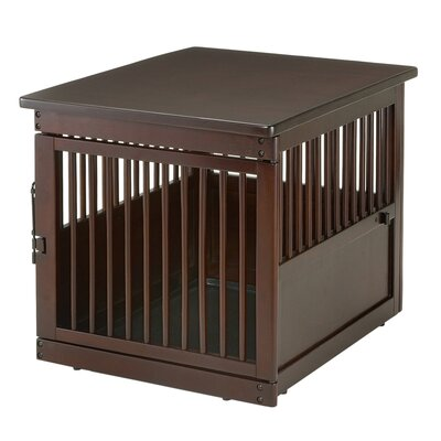 Wooden End Table Pet Crate Size: 25 H x 31.1 W x 24 D