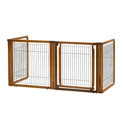 Convertible Elite 4-Panel Pet Gate Size: 35.8 H x 91.7 W x 29.1 D