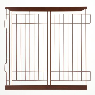 Expandable Pet Crate Divider Color: Cherry Brown, Size: Medium