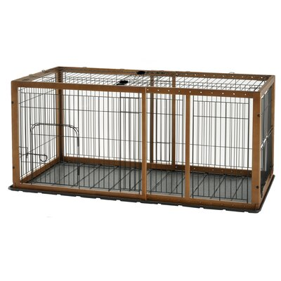 Expandable Pet Crate Color: Autumn Matte