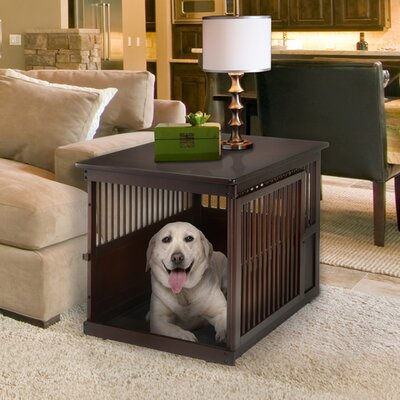 Wooden End Table Pet Crate Size: 29.5 H x 29.9 W x 41.5 D
