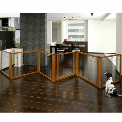 Richell Convertible Elite Pet Gate Finish: Matte