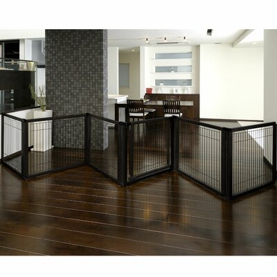 Richell Convertible Elite Pet Gate Finish: Black