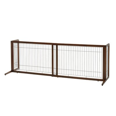 Freestanding Pet Gate Size: 24 H x 41.3 W x 20.5 D