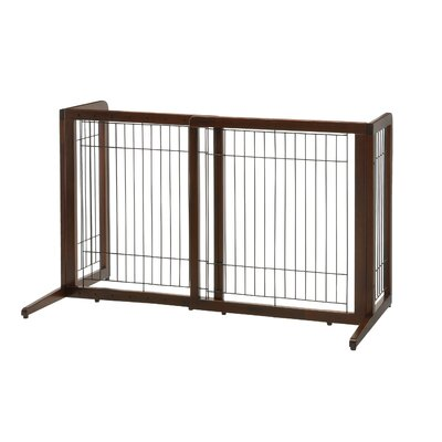Freestanding Pet Gate Size: 24 H x 22.4 W x 20.5 D