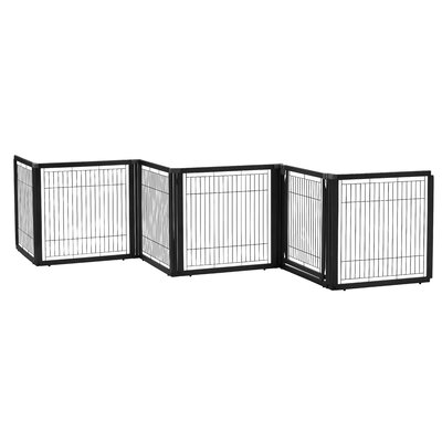Convertible Elite Pet Gate Finish: Black