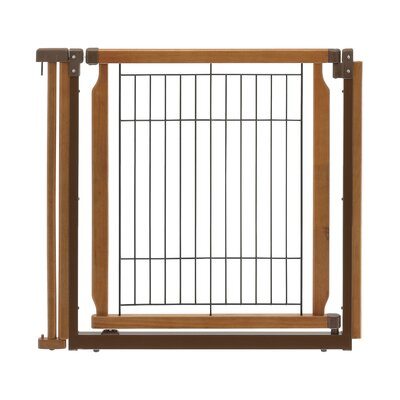 Convertible Elite Door Panel Free Standing Pet Gate Finish: Autumn Matte