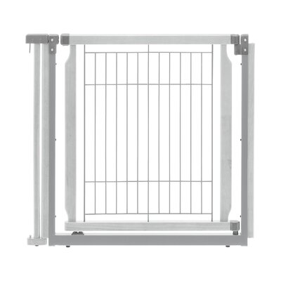 Convertible Elite Door Panel Free Standing Pet Gate Finish: Origami White