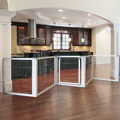Convertible Elite Pet Gate Finish: Origami White