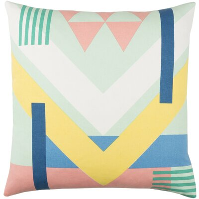 Lina Cotton Pillow Cover Size: 20 H x 20 W x 1 D