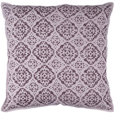 Dorsay Pillow Cover Size: 20 H x 20 W x 1 D, Color: Purple