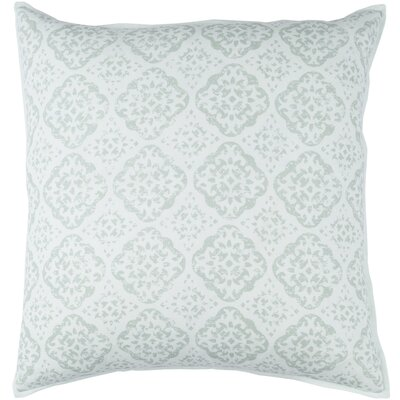 Dorsay Pillow Cover Size: 18 H x 18 W x 1 D, Color: Green