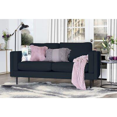 Simone Sofa Upholstery: Cobalt