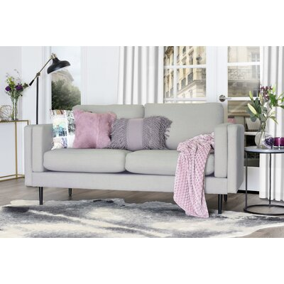 Simone Sofa Upholstery: Light Gray