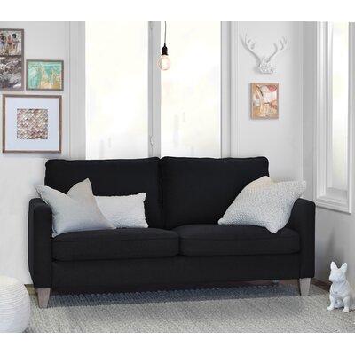 Porter Sofa Upholstery: Black