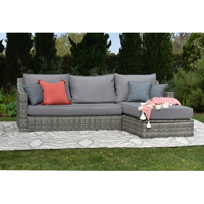 Vallauris Storage Sectional with Cushions