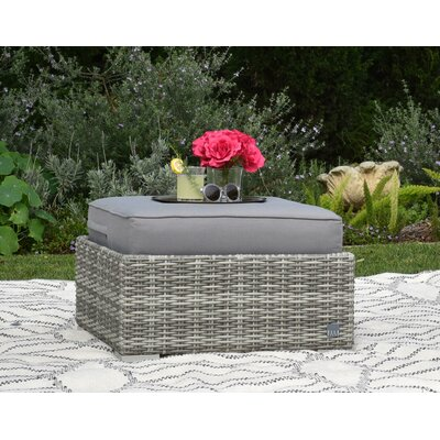 Vallauris Ottoman with Cushion