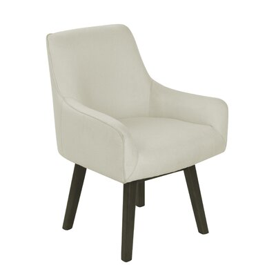 Paige Home Armchair Upholstery: Ivory