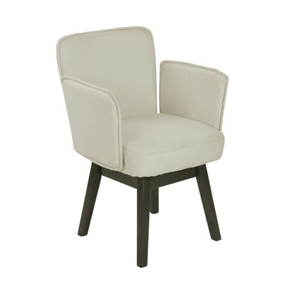 Esme Home Armchair Upholstery: Ivory